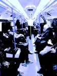black,white,london,people,underground,transport,TFL,tube