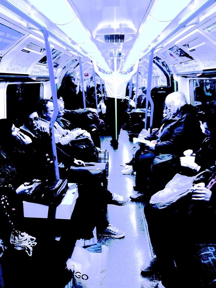 black,white,london,people,underground,transport,TFL,tube
