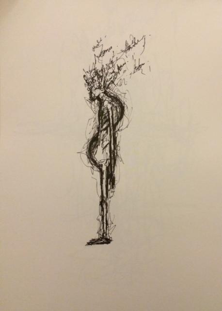 Pen on paper (2014)